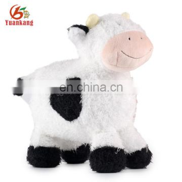 ICTI Certificated Promotional Gift Custom Plush Stuffed Animal Cow Toys
