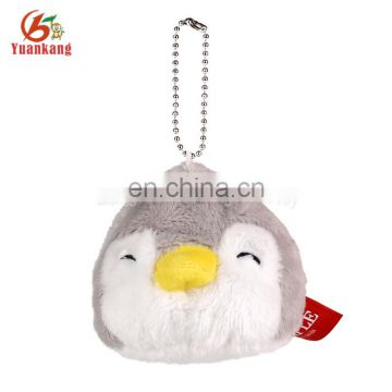 key ring penguin plush keychain
