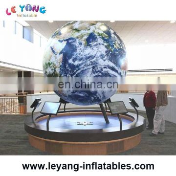 Balloon Type Inflatable Flying Earth for Advertising or show