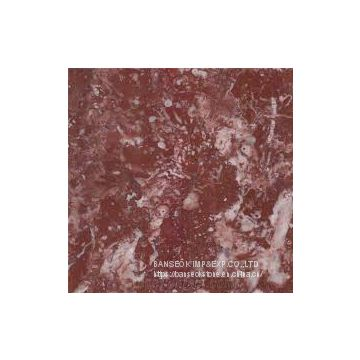 Agate light red marble