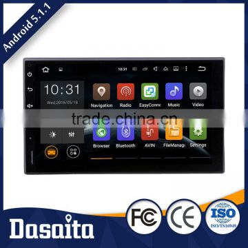 7 Inch High quality double din Menu Languages car gps dvd player for universal