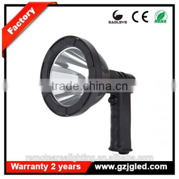 handheld spotlight hunting portable rechargeable led super bright outdoor lighting 10W T61-LED