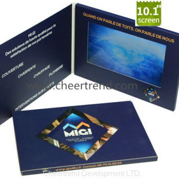 High Quality Various Greeting Video Brochure Made in China