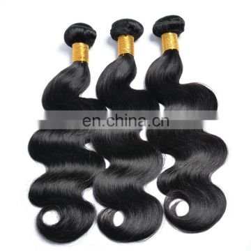 Human hair weave body wave brazilian hair bulk