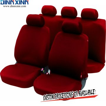 DinnXinn Lincoln 9 pcs full set sandwich pink car seat covers manufacturer China