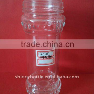Chinese type hot and spicy sauce glass jar
