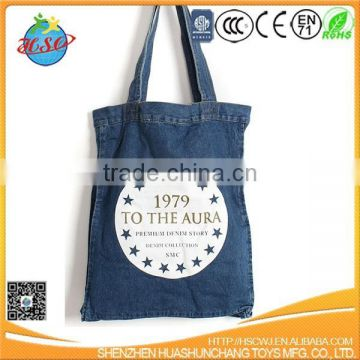 wholesale blank jeans shopping bag
