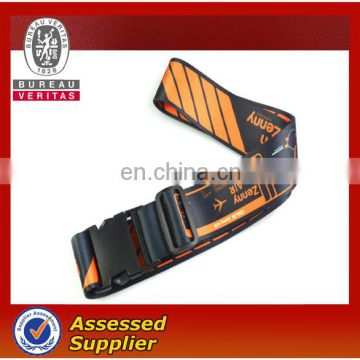 Style oem silk-screen printing top quality beautiful lock luggage strap