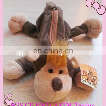 promotion gifts for student plush animals pencil bag