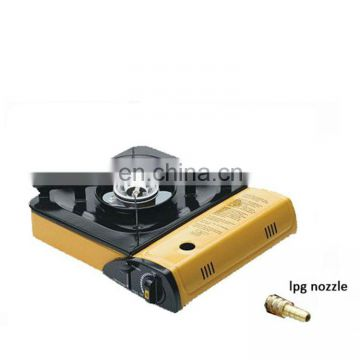 double use with lpg nozzle  burner gas stove