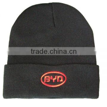 2015 wholesale fashion embroidery knitted hat