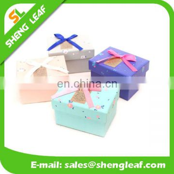 Nice Festival Paper Box with Ribbon