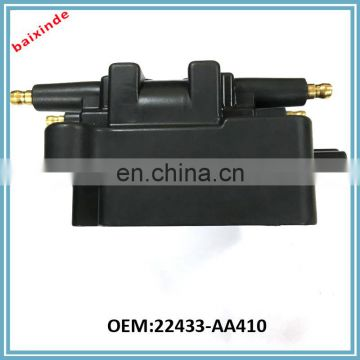 Auto parts ignition coil hight quality OEM 22433-AA410 22433AA410
