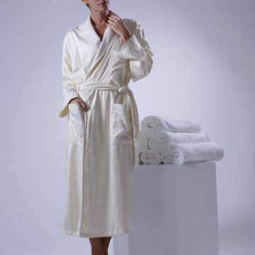 Eliya Wholesale Long Terry Bathrobe 100 Cotton Hotel Bathrobe for Sale