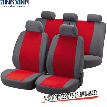 DinnXinn Cadillac 9 pcs full set sandwich car seat cover oem Wholesaler China