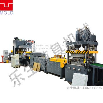 fully automatic production line of aluminium alloy ceiling panel machine,full auto grid making line