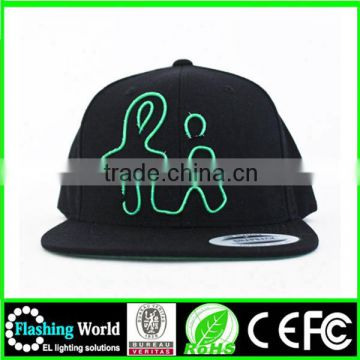 beautiful in colour cool flashing fluorescent hat