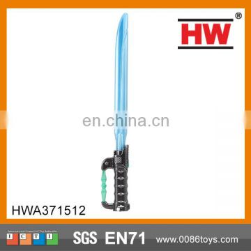 52 cm black handle blue light music flashing swords light saber(4 tpye mixed)