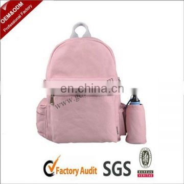 Teenager School Backpack with Bottle Holder