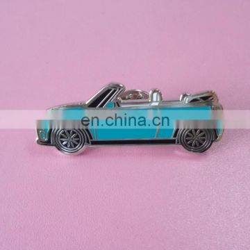 Mini Car Shape Metal Hard Enamel Logo Brooch Lapel Pin Badges