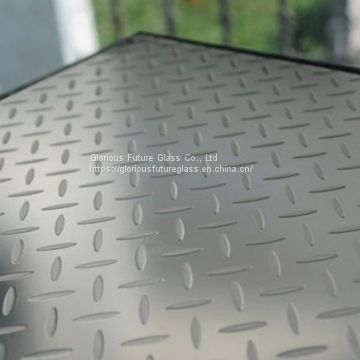 10mm + 10mm Anti-Slip Glass