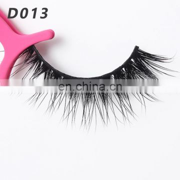 D013 Primer Black private Label Mink Eyelashes With Packaging Box