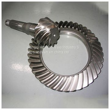 Carbon Steel Differential Spiral Bevel Gear Pair for Vehical