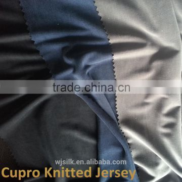 cupro fabric knitted jersey