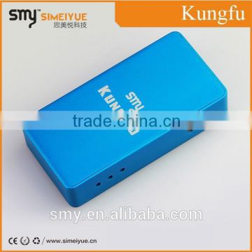 2015 new designed e cigarette,SMY newest original models/ mechanical mod kungfu with Mosfet switch/Box mod Kung fu