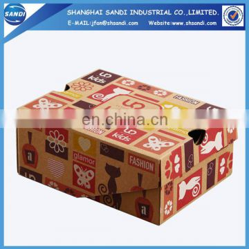 Custom gift paper packaging craft box