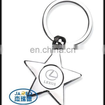 cheap manufacturers metal crafts round ring key chains wholesale