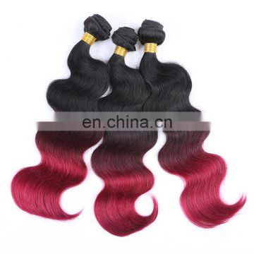 Aliexpress virgin remy hair 2016 New Grade 8a ombre hair extension , 100% top quality sew in human hair extension
