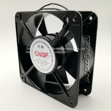 CNDF made in china from wenzhou manufacturer cooling fan exhaust fans 180x180x60mm 110/120VAc 50/60Hz 2 ball bearing cooling