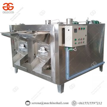Hot Roasted Peanut Machine Cashew Flavouring Machine Stable Working
