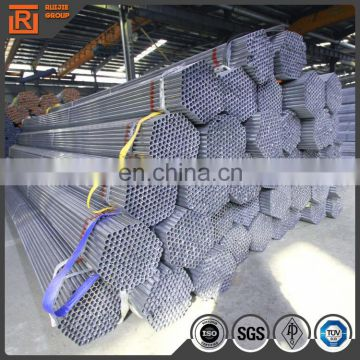 50mm steel pipe carbon welded pre galvanized steel pipes