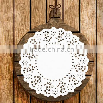 "Wholesale lace paper doilies placemats 5.5"" with offset paper 140pcs/bag"