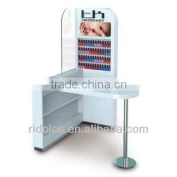 Nail counter used nail salon furniture wholesale beauty supply store TKN-D117