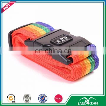Wholesale colorful embroider luggage scale attachment strap