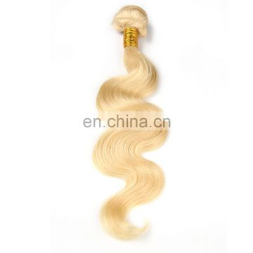 Russian Virgin Hair T1B or Whole golden Color 613# Brazilian Hair