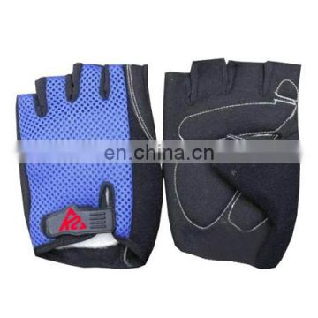 Cycle Gloves blue mesh