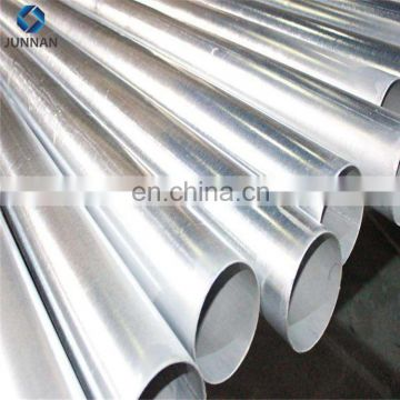 2018 new product ERW Galvanized Steel Pipe round pipe