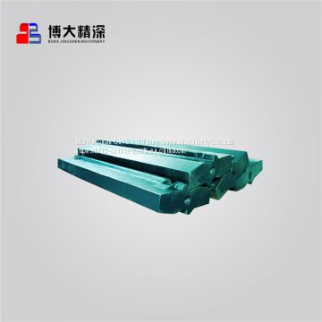 impact fine crusher impact crusher casting spare parts blow bar apply to Metso np 1213 crusher
