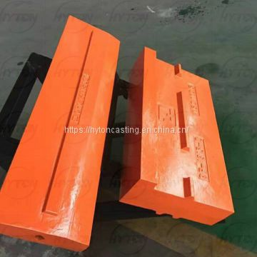 High Chrome Castinbg Crusher Blow Bars suit Terex 1-100