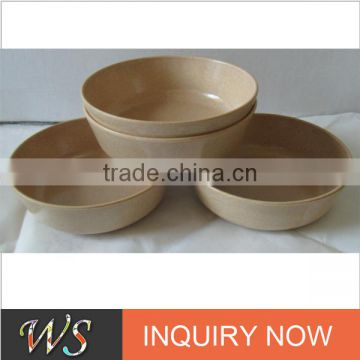 Biodegradable Rice Hull Soup Plate