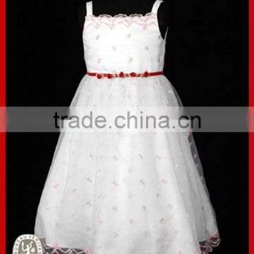 2014 Wine embroidery beautiful girl without dress