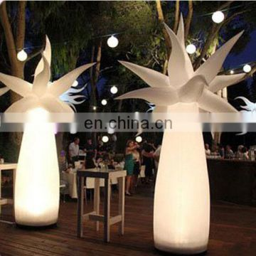 lighting inflatable flower for wedding decorations