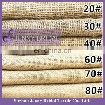 BPL006 burlap table runner jute table cloth hessian fabric