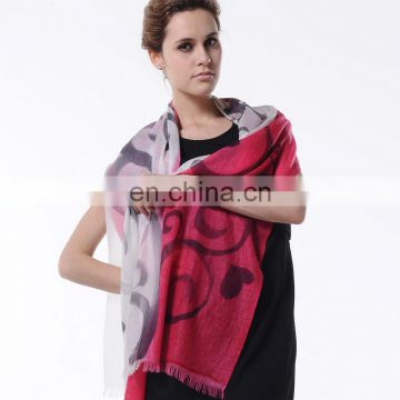 2015 Newest style fashion design woman high quality cashmere cape(CD018L)