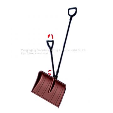 142cm length double handle labor-saving plastic snow shovel