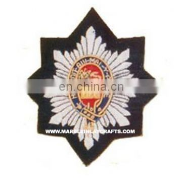 Fashion Hand Embroidery Badges Brooch Emblem